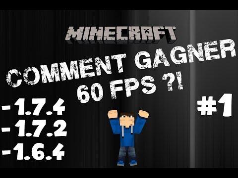 Augmenter ses FPS Minecraft [+60 FPS] [1.8.1,1.8,1.7.4 et 1.7.2] - Windows 8/7/Vista/XP | MrLeaderHD