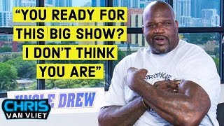 Shaq calls out Big Show to finally wrestle a WWE match