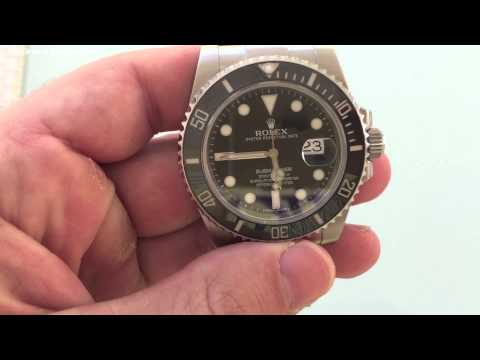 Where is the Serial Number located on my Rolex?