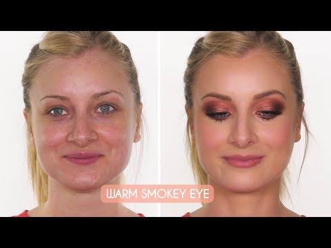 Warm Smokey Eye & Full Coverage Skin | Makeup Tutorial | Shonagh Scott