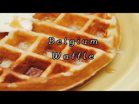 How to make simple Belgium Waffle