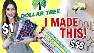 DOLLAR TREE DIY | Back to School & Office Supplies