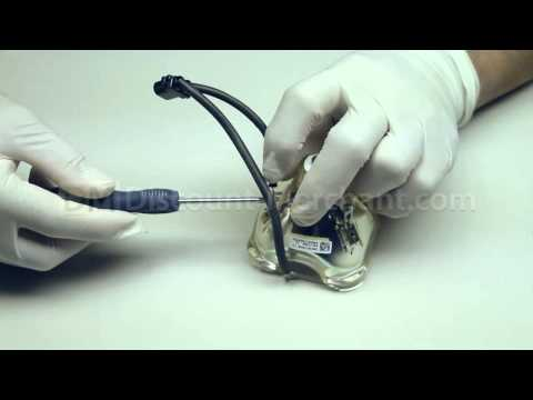 Epson EP-V13H010L28  Projector Lamp Replacement Video Guide