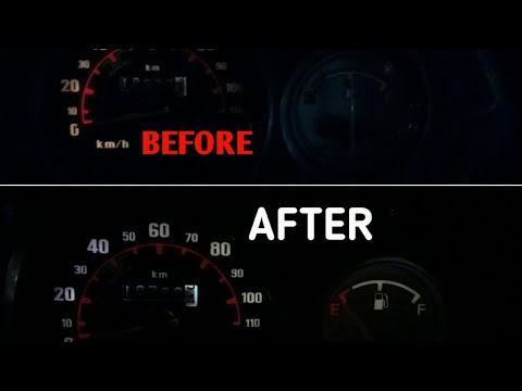 How To Change Speedometer Bulbs In Activa And Dio
