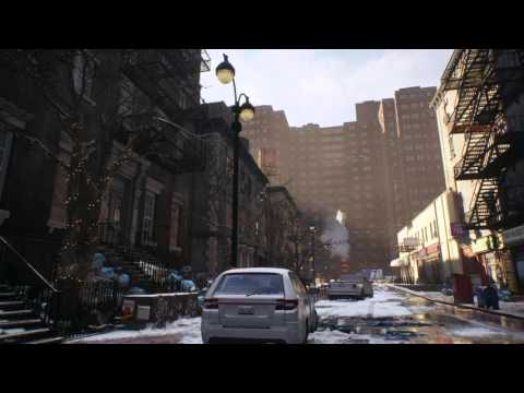 Full Time-lapse & Environments of The Division Beta | PS4