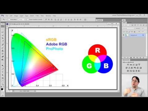 Color Modes and Color Profiles - Photoshop Tutorial