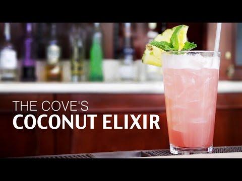 The Cove's Coconut Elixir | Disney Parks Mixology School