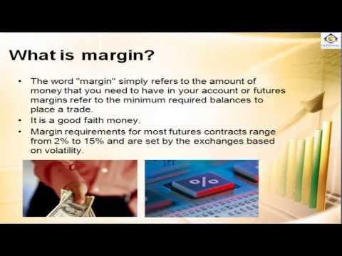 What is margin in Commodity futures trading? MCX Commodity Trading Tutorial Video-4-India