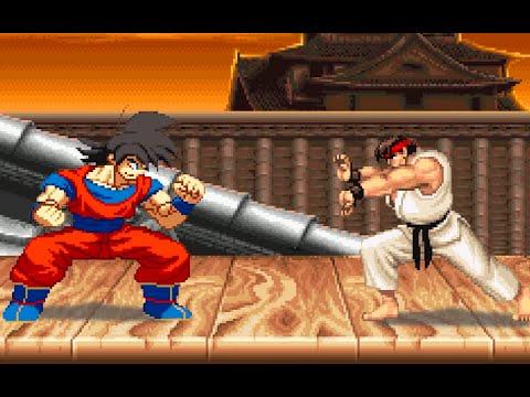 DBZ Goku VS Street Fighter 2 : Sprite Animation