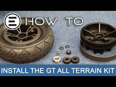 How To Change Your GT Street to GT All Terrain    Evolve Skateboards