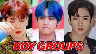My Top 50 K-pop Boy Groups! (2019)
