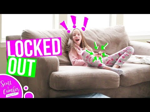 I LOCKED HER CELL PHONE!...