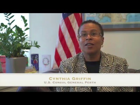 Perth Consul General Cynthia Griffin on Martin Luther King Day