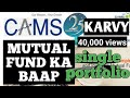 Cams Mutual funds!karvy Mutual funds! single portfolio! direct mutual funds!best broker!What is RTA