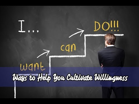8 Ways to Help You Cultivate Willingness