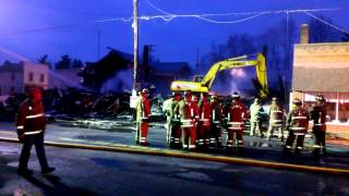 After the Fire (part 2), Garrettsville, OH 3/22/14