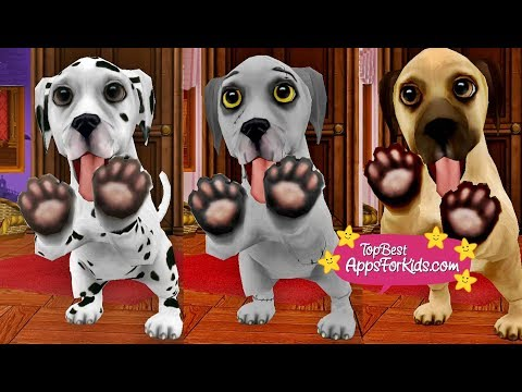 Dog World 🐶 Various Puppies Breeds 🐾 Game App for Kids