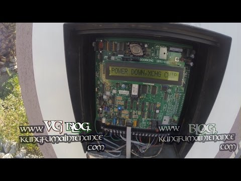 Door King Telephone Entry Gate System Error Code Power Down Exchange Chip How To Reset Or Replace