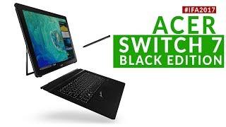 Acer Switch 7 Black Edition: Dal Vivo Con Gpu Discreta E Autostand