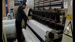 Iran made Mattress manufacturer, Ex-Drug Addicted personnel توليدكننده تشك خوشخواب ايران