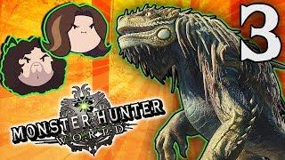 Monster Hunter World: Big Bone - PART 3 - Game Grumps