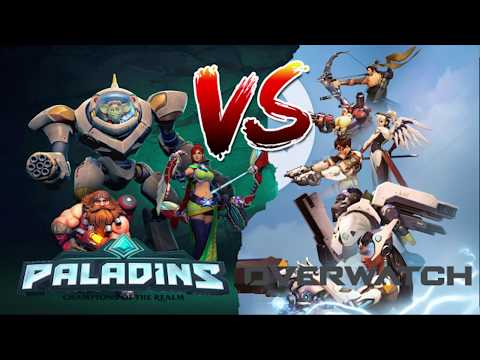 Paladins vs Overwatch Part 1