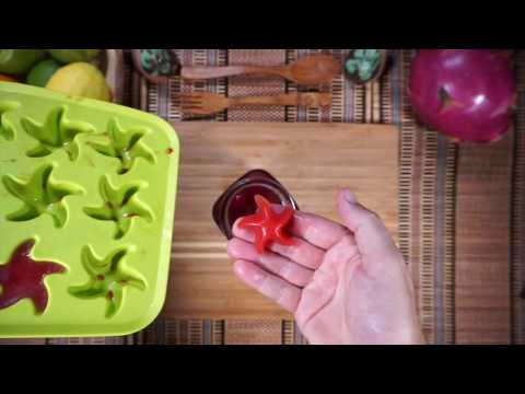 How to make Watermelon Ice Cubes