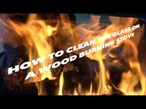 How To Clean The Glass Door on a Wood Burning Stove plus 2 other Tips