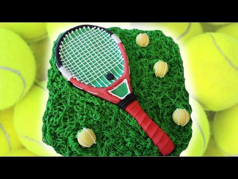TENNIS THEMED CAKE: TUTORIAL | Marcos Soler