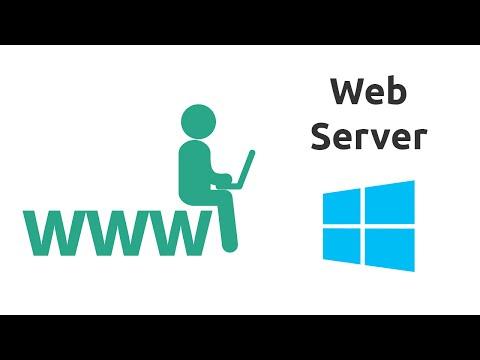 How to setup a Web Server on Windows