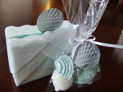 * Unique Homemade Soap Wedding Favors * How to Make Cold Process Soap - PART 1