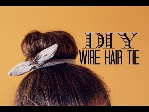 DIY Wire Hair Tie