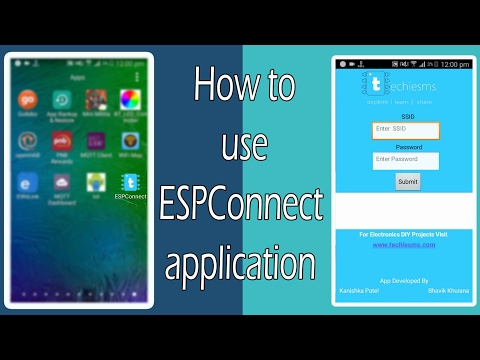 [#2]How to use ESPConnect App to connect with any host | Extension 2 of smallest IoT Project