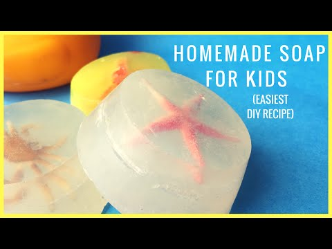 How to Make Homemade Soap For Kids (Tried & Tested Recipe)