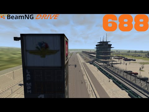 BEAMNG DRIVE #688 | Indianapolis Motor Speedway | Let's Play BeamNG Drive mit GCG [Alpha] [HD]