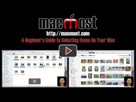 A Beginner's Guide to Selecting Items On Your Mac (#1566)
