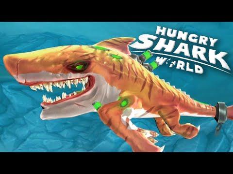 ATOMIC SHARK! - Hungry Shark World   Ep 19 HD