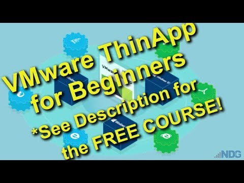 Introduction to VMware ThinApp for Beginners