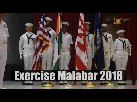 Naval Exercise Malabar 2018 Off Guam Coast In The Philippines Sea