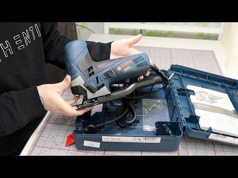 Bosch GST 90E Jigsaw Unboxing