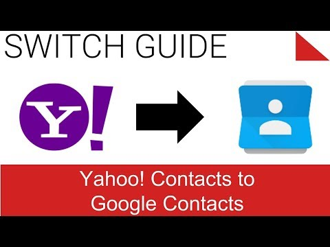 Export / Backup Contacts from Yahoo to Google Contacts