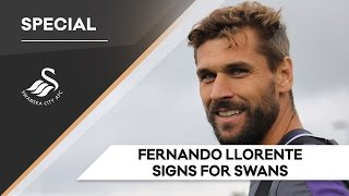 Swans TV - EXCLUSIVE: Fernando Llorente signs for the Swans
