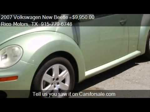 2007 Volkswagen New Beetle 2.5L PZEV - for sale in El Paso,