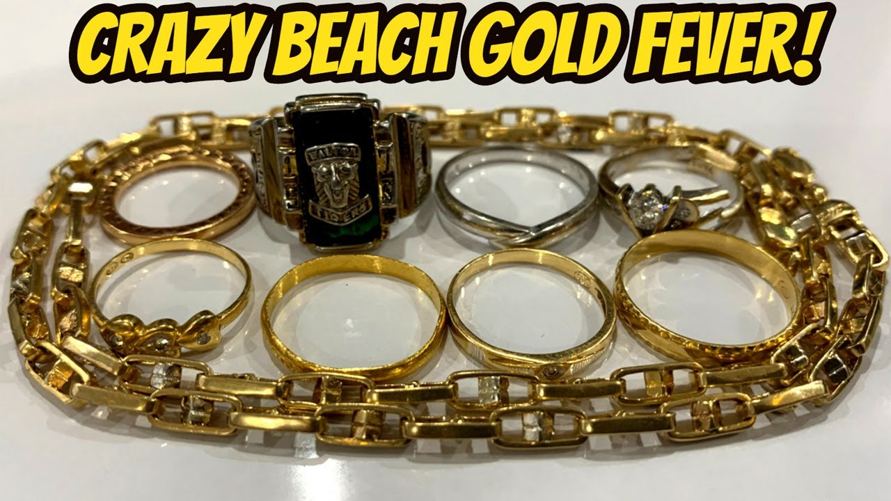 $1000 Gold Day At The Beach - Most Insane Hunt Ever!
