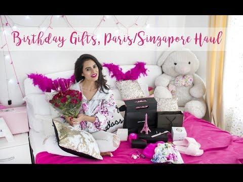 BIRTHDAY GIFTS   PORTUGAL/PARIS/SINGAPORE HAUL