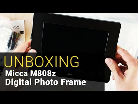 Micca Natural View Digital Photo Frame - UNBOXING - Out of the Box #10