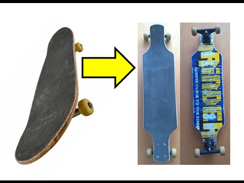 Turn your skateboard into a longboard