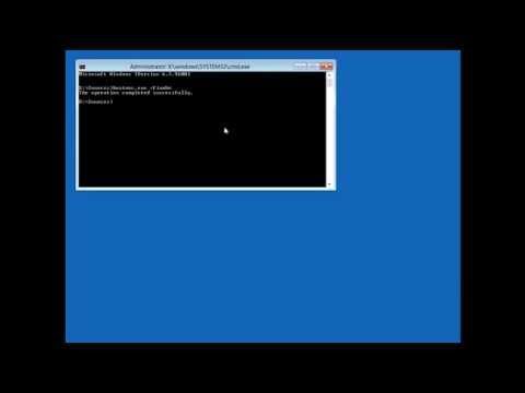 How Repair Windows 8 Master boot Record