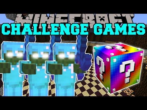 Minecraft: BOB ARMY CHALLENGE GAMES - Lucky Block Mod - Modded Mini-Game