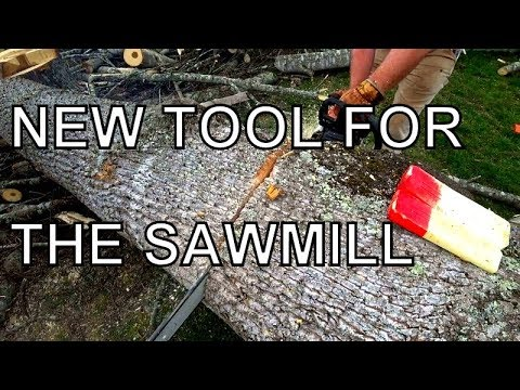 MAKING LIFE EASIER AT THE SAWMILL, THE PORTABLE WINCH HAS ARRIVED!
